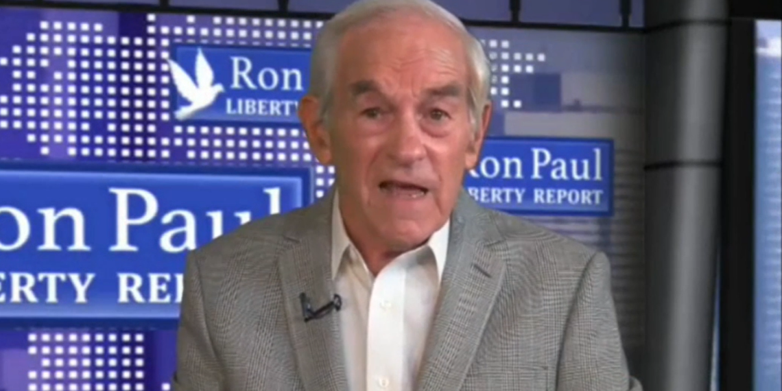 Watch: Ron Paul Suffers Stroke During Live Event